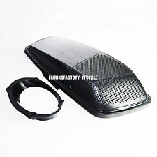 Single CVO Style 6x9 Speaker Lids For HD Harley 2014 & Up Touring Saddlebags