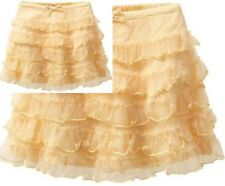 New Baby Girl Gap Easter Daisy Fields Chains yellowTulle Skirt 4 4T