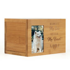 Pet urns Memorials Photo Frame Wood Cremation Urn for Cats and Dogs