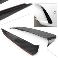 Carbon Fiber Rear Bumper Side Air Vent Fender Trim For Mercedes-Benz Cclass W205