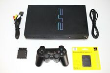 Sony Playstation 2 PS2 Fat Black Video Game System Console