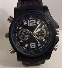 8GB HD BLACK  Waterproof Hidden Spy Wrist Watch Cam Mini DVR Video SPY CAMERA