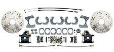 "Ford 9"" Rear Disc Brake High Performance Powder Coated Black Calipers"