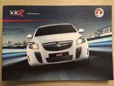 Vauxhall VXR brochure-octobre 2009 VX8R Corsa Astra Meriva Zafira Vectra