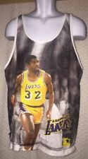 Vintage Magic Johnson Los Angeles Lakers Showtime Tank Top size M/L by Starter