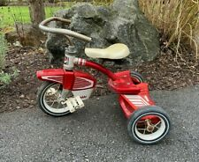 Vintage Antique Columbia Tricycle 1940's 1950's Child's Three Wheeled Bicycle