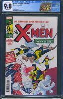X-Men 1 (Marvel) CGC 9.8 White Pages Facsimile Edition Reprint X-Men CGC Label