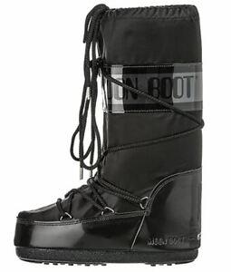 Tecnica Moon Boot Stiefel Boots Damen Winterstiefel Glance NEU schwarz black NEU