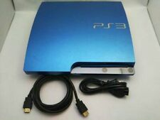 PlayStation 3 PS3 Console System 320GB Splash Blue game Japan CECH-3000BSB