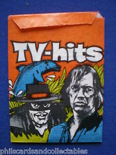 TV HITS   Monty Gum Packet  with Cards inside  c1977