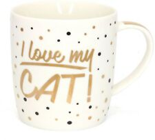 Cat design Tea coffee mug boxed