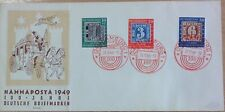 GERMANY (WEST) 1949 STAMP CENTENARY SET SG1035/7 on STAMP EXHIBITION COVER.