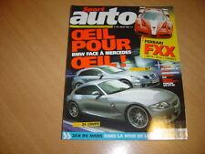 Sport Auto N°522 Ferrari Superamerica.SLR.F430 Spider