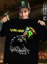 Valentino Rossi VR46 Signature Shirt Unisexs Short Sleeve Hot