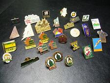Lot of 31 Canada Games & Sport Pins
