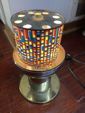 Vintage Fiber Optic Rotating Motion Lamp Light Fantasia Works