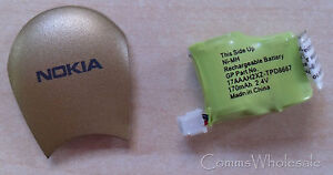 Genuine Nokia HDW-2 HDW-3 Bluetooth Headset Battery & Cover