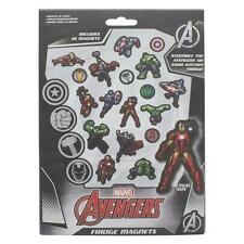 Marvel Avengers Iron Man Incredible Hulk Captain America Thor Fridge Magnets NEW
