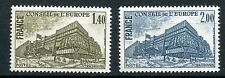 STAMP TIMBRE FRANCE NEUF SERVICE N ° 63/64 ** CONSEIL DE L'EUROPE / ARCHITECTURE