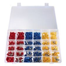 480Pcs Assorted Crimp Terminal Set Insulated Electrical Wiring Connector Kit