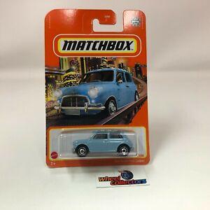 1964 Austin Mini Cooper * Blue * 2021 Matchbox Case V
