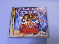 Sega Saturn PURIKURA DAISAKUSEN ATLUS Used SS Japan Game Soft Import F S USED