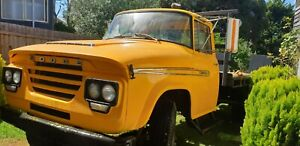 International Dodge Tow Truck