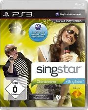 PLAYSTATION 3 SINGSTAR chartbreaker come nuovo
