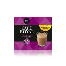 Café Royal Café Au Lait Coffee Pods Compatible with The Nescafé Dolce Gusto S...