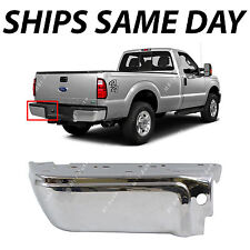 NEW Chrome Steel Rear Left LH Bumper End for 2008-2016 Ford F250 F350 Super Duty