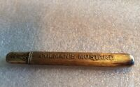 Unique Antique Cigar Clipper Advertising Coleman Mustard Colman's Blue