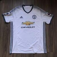 2016/17 Manchester United 3rd Away Jersey #9 Ibrahimovic Large Adidas Football