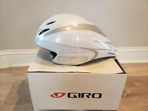 Giro Advantage 2 Cycling Aero Helmet Race White/Silver Large 59-63 CM 6/11