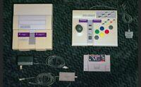 Nintendo SNES Bundle Super Advantage controller Super Star Wars game