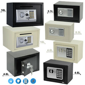 Secure Digital Steel Safe High Security Electronic Home Office Money Safety Box