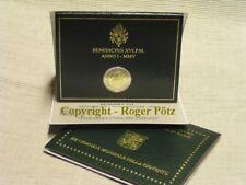 2 Euro Gedenkmünze Vatikan im Originalfolder wahlweise von 2004 - 2019 st