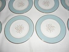 """12 Syracuse China ~ MEADOW BREEZE ~ 6 1/4"""" Bread Plates ~ Excellent ~ USA"""