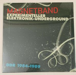 """Magnetband - Experimenteller Elektronik-Underground ~ 2017 Vinyl Record 12"""""""
