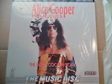 Laserdisc - Alice Cooper -Prime Cuts  promo punch