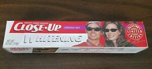 Close Up Toothpaste Jeff Brooke Gordon Collectible Box Only 1999 Rainbow Warrior