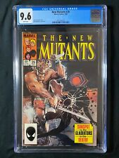 New Mutants #29 CGC 9.6 (1985) - Sunspot vs the Gladiators