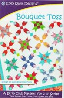 Bouquet toss Quilt pattern - cozy Quilt Design