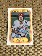 1977  KELLOGG'S #20 PETE ROSE REDS CARD NICE