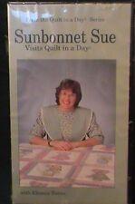 Sunbonnet Sue Visits Quilt a Day Series VHS Eleanor Burns