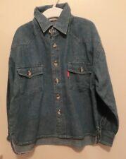 Blaues Jeanshemd mit 2 Brusttaschen Gr. 116