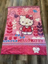 Hello Kitty Girls Reversible Pink 3 Pc ToddleBedding Sheets Comforter Set