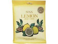 (2,78€/100g) [ 36g ] SINA LEMON ginger candy / Ingwer-Bonbon Zitrone  Zuckerfrei