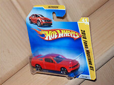 2010 Ford Mustang GT rot short-card Hot Wheels '09 HW Modell Auto Muscle Car Rod