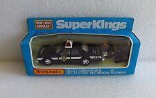 NIB '79 MATCHBOX SUPER KINGS PLYMOUTH GRAN FURY NYC POLICE CAR K-78 NEW