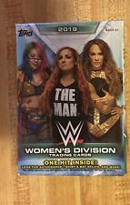 2019 WWE Women's Division Trading Cards 10 Packs -Doesn't Contain the 1 Hit Card